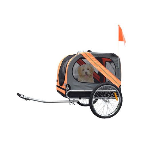 Dé manier om met uw hond een fietsrit te maken